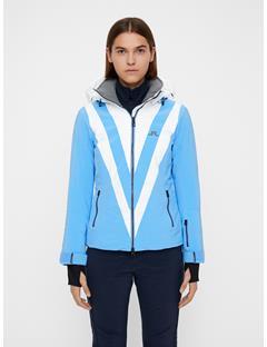 Womens Wrangell Dermizax EV Jacket Silent blue