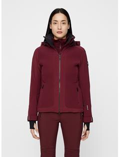 Womens Moffit Dermizax EV Jacket Dark Mahogany