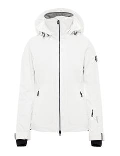 Womens Moffit Dermizax EV Jacket White