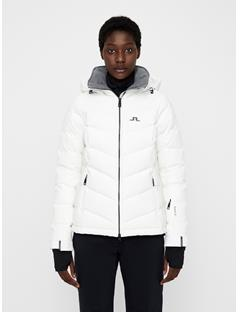 Womens Watson Dermizax EV Down Jacket White