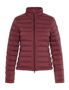 Womens Ease Down Sweater Dark Mahogany