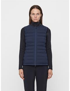 Womens Ease Down Vest JL Navy