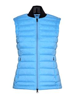 Womens Ease Down Vest Silent blue