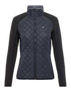 Womens Atna Pertex Hybrid Jacket Black