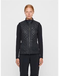 Womens Atna Pertex Hybrid Vest Black