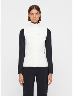Womens Atna Pertex Hybrid Vest White