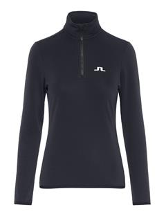 Womens Kimball Quarter-Zip Fieldsensor Midlayer Black