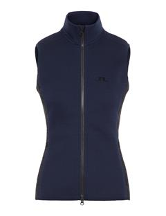 Womens Lugar Tech Jersey Vest JL Navy
