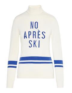 Womens Grace Wool Coolmax Sweater Ivory