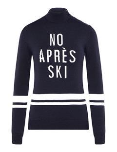 Womens Grace Wool Coolmax Sweater JL Navy