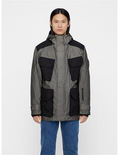 Mens Pipe Reflex Parka Black