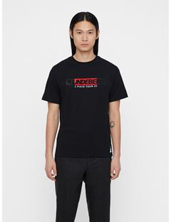 Mens Jordan Distinct Cotton T-shirt Black