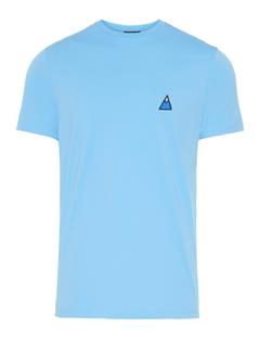 Mens Bridge Graphic Cotton T-shirt Ocean Blue