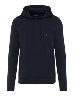 Mens Throw Ring Loop Hoodie Black