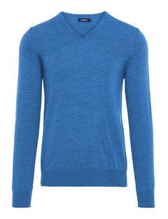 Mens Lymann True Merino Sweater River Blue