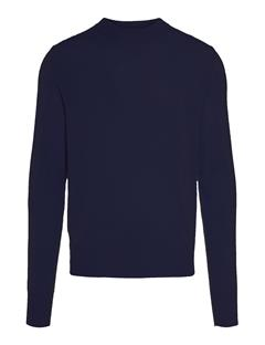 Mens Demyan Brushed Cashmere Sweater JL Navy