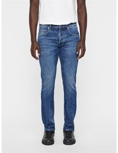 Mens Cedar Frye Jeans Mid Blue