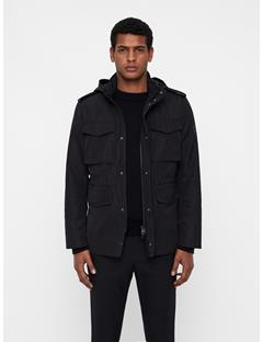 Mens Willow Canvas Jacket Black