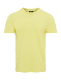 Mens Bridge Graphic Cotton T-shirt Broken Yellow
