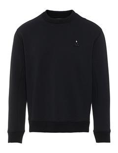 Mens Scott Fine Sweatshirt Black