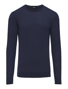Mens Newman C-neck Perfect Merino JL Navy