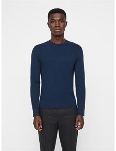 Mens Taylon Micro Crinkled Knit JL Navy