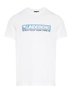 Mens Bridge Graphic Cotton T-shirt White
