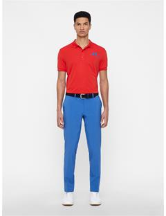 Mens Ellott Tight Fit Pants Work Blue