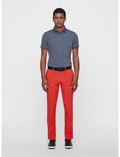 Mens Ellott Reg Fit Pants Deep Red