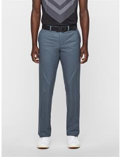 Mens Elof Tight Fit Pants Dk Grey