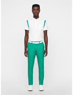 Mens Elof Tight Fit Pants Golf Green