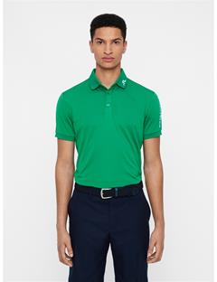 Mens Tour Tech Reg Fit Polo Golf Green
