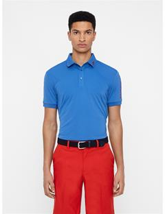 Mens Tour Tech Reg Fit Polo Work Blue