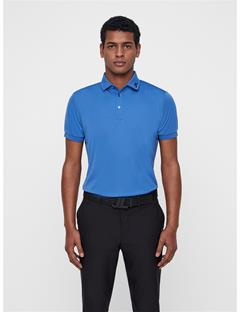 Mens KV TX Jersey Polo Work Blue