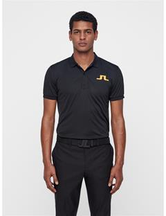 Mens Big Bridge TX Jersey Polo Black