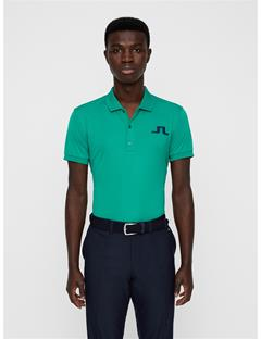 Mens Big Bridge TX Jersey Polo Golf Green