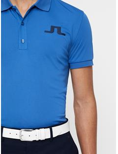 Mens Big Bridge TX Jersey Polo Work Blue