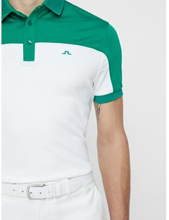 Mens Mateo TX Coolmax Polo Golf Green
