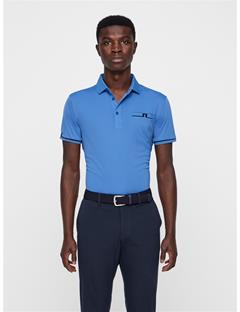 Mens Petr TX Jersey Polo Work Blue