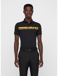 Mens Eddy TX Jersey Polo Black