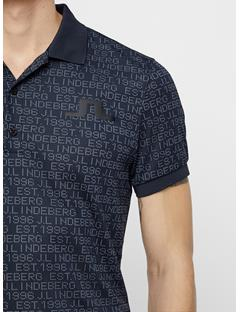 Mens Big Bridge Jaquard Polo JL 96 Black