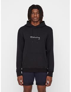 Mens Iconic Terry Hoodie Black