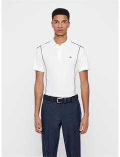 Mens Luke Lux Pique Polo White
