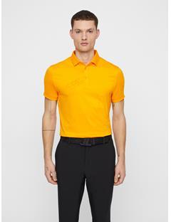 Mens Caleb TX Coolmax Mesh Polo Warm Orange