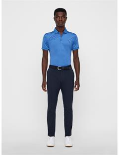 Mens Caleb TX Coolmax Mesh Polo Work Blue