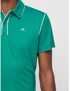 Mens Tomi Lux Pique Polo Golf Green