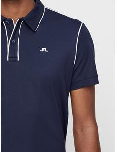 Mens Tomi Lux Pique Polo JL Navy