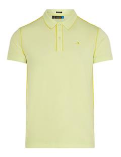 Mens Tomi Lux Pique Polo Pale Lime