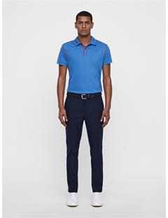 Mens Tomi Lux Pique Polo Work Blue