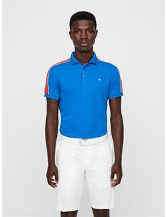 Mens Billi Cotton-Poly Polo Work Blue Melange
